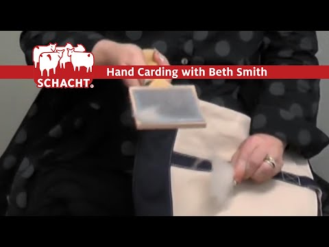 Hand Carding With Beth Smith