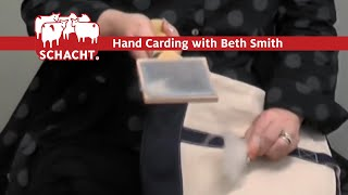 How to Card Wool with Beth Smith and Schacht Spindle Company