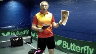 видео BUTTERFLY Petr Korbel Off основание для настольного тенниса