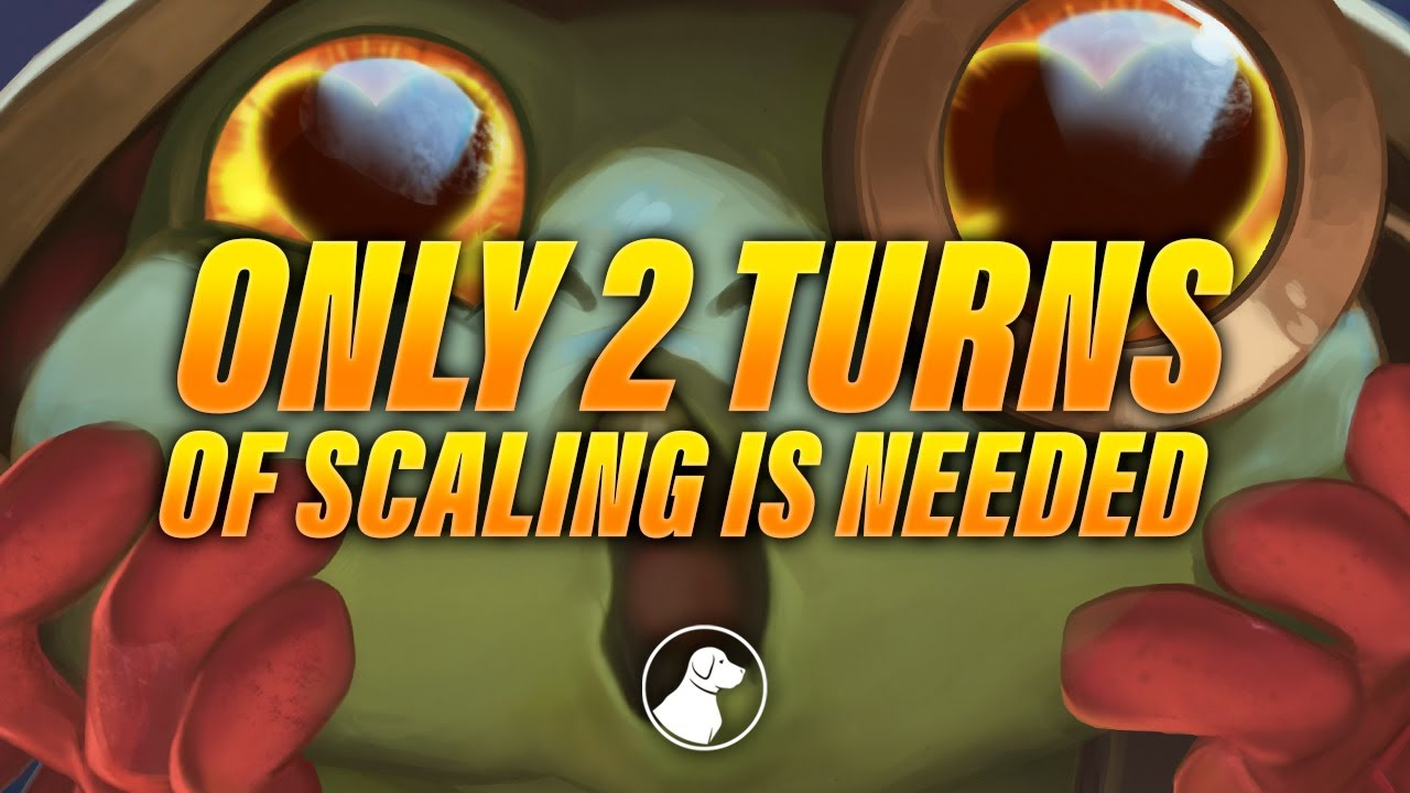 Only 2 Turns of Real Scaling is Needed to Win | Dogdog Hearthstone Battlegrounds