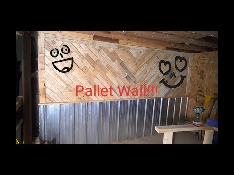 Pallet Wall!!!!
