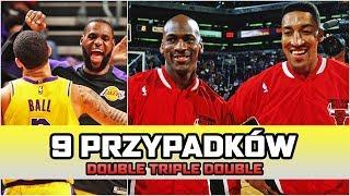 9 przypadków PODWÓJNEGO triple double ► NBA po POLSKU