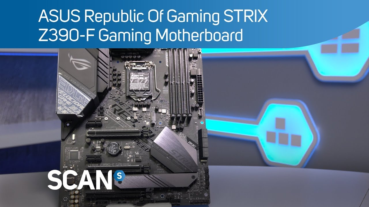 ASUS ROG STRIX Z390-F Gaming Motherboard - Product Overview