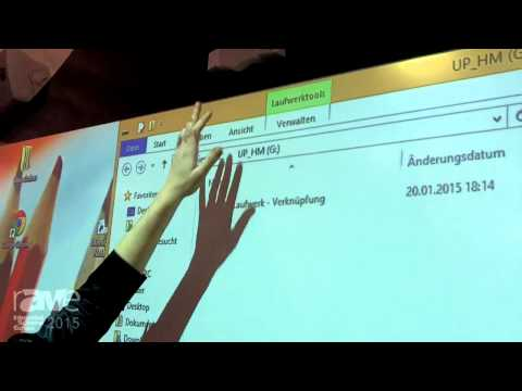 ISE 2015: ConenMounts Showcases CloudBoard Interactive White Board