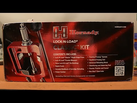 Hornady Lock-N-Load Classic Kit - First Impression