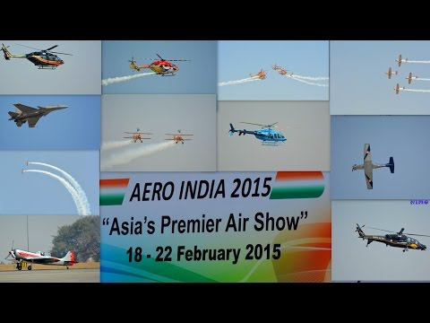 BANGALORE AIRSHOW 2015:FULL COVERAGE :AERO INDIA 2015