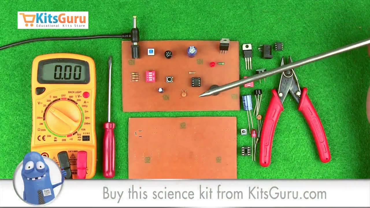 5 30 Minutes Timer Circuit By Kitsgurucom Lgkt146 Youtube Simple 10 Led Chaser With Cd4017 Schematic Circuits Elektropagecom