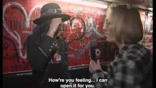 Hanoi Rocks - interviews from the farewell tour. English subtitles. April 2009