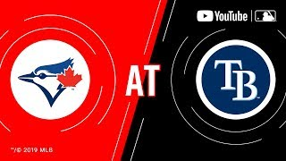 Blue Jays At Rays  MLB Game Of The Week Live On YouTube