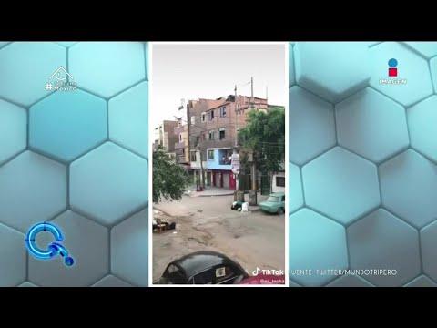 Atacan con globos de agua a vecino por salir en cuarentena