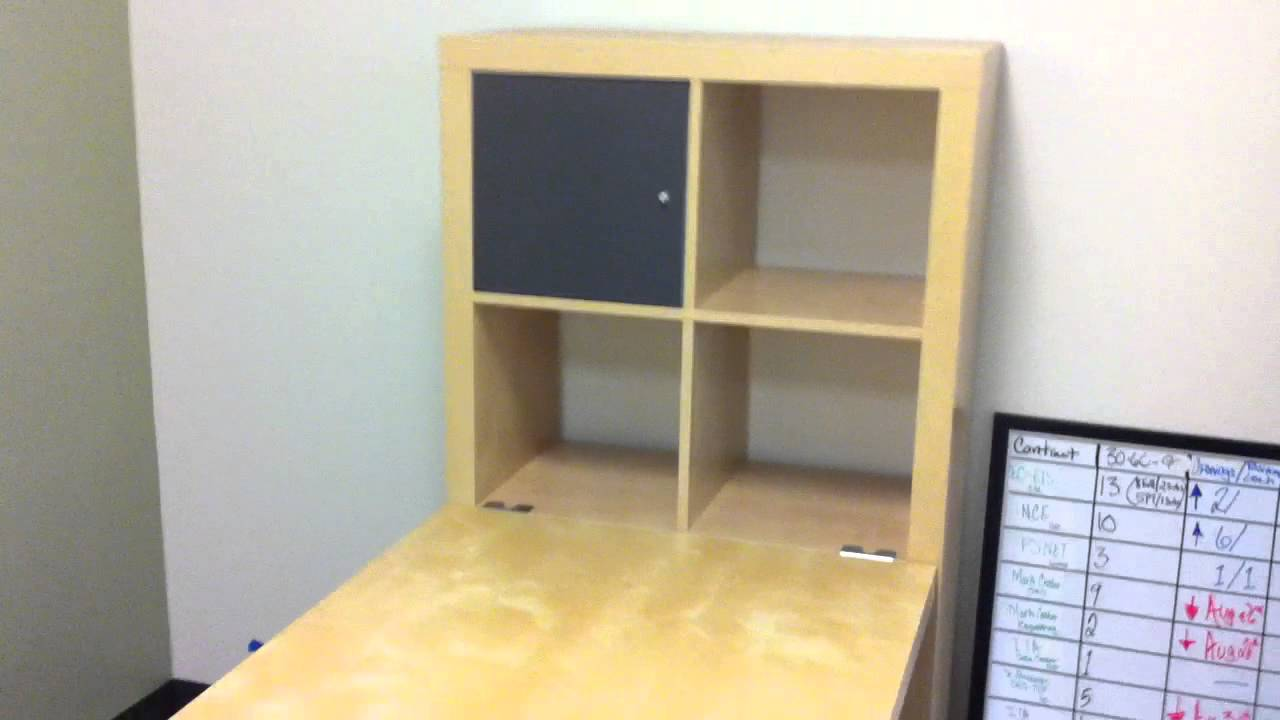 ikea expedit desk assembly service in dc md va by furniture assembly experts llc youtube. Black Bedroom Furniture Sets. Home Design Ideas