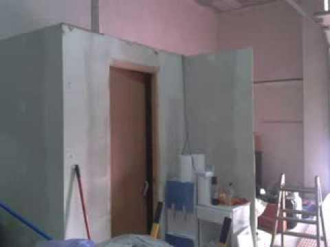 Creaci n de ba o sin obra con paneles paredeco youtube - Revestimientos banos sin obra ...
