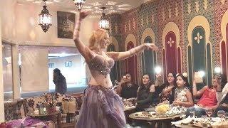 Belly dancer Liz Leyla Oriental Routine