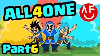 CLASH ROYALE: PARODY-Three Wizards (PART 6) ALL 4 ONE