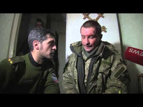 Пленные киборги Донецк,