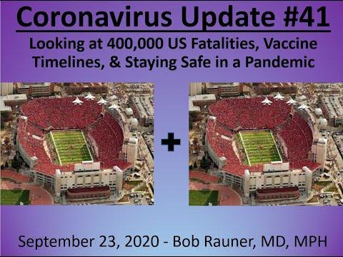2020 Sept 23 Coronavirus Community Update V41 Recording