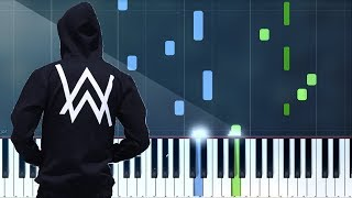 "Download Alan Walker - ""Darkside""  Piano Tutorial - Chords - How To Play - Cover"