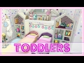 The Sims 4 // Twin Girl Toddlers DREAM BEDROOM | SPEED BUILD (No CC)