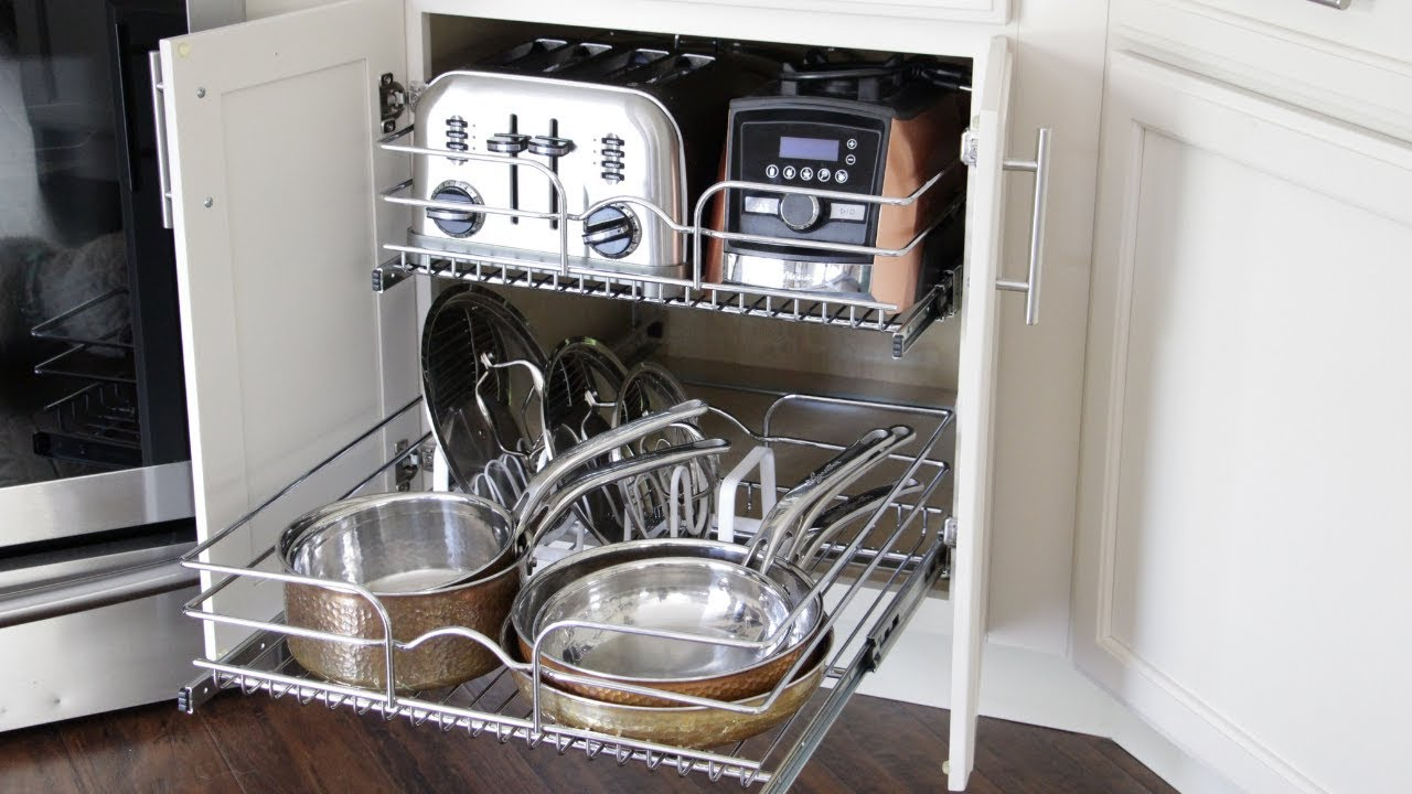 How To Organize Your Pots Pans