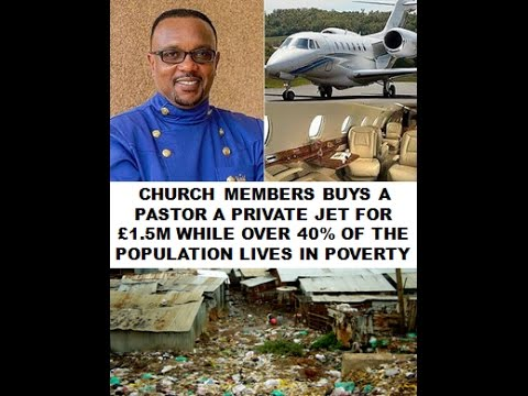 pastor gets 163 1 5m jet as a gift from