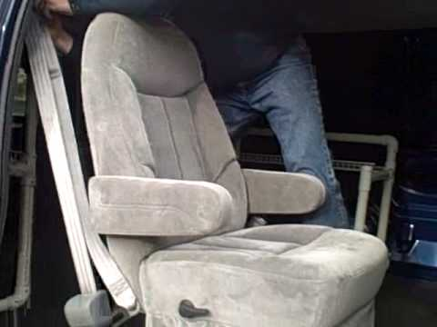 Removable Captains Chair For Van By Cyclevan