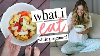 WHAT I EAT IN A DAY PREGNANT | Becca Bristow