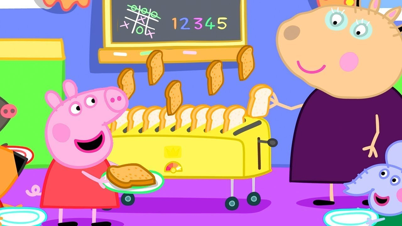 Peppa Pig Official Channel | Peppa Pig's Breakfast Club