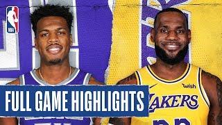 KINGS at LAKERS | FULL GAME HIGHLIGHTS | November 15, 2019