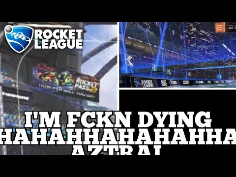 BEST Rocket League Highlights: I'M FCKN DYING HAHAHHAHAHAHHA AZTRAL SPAMMMMMMMMM thumbnail