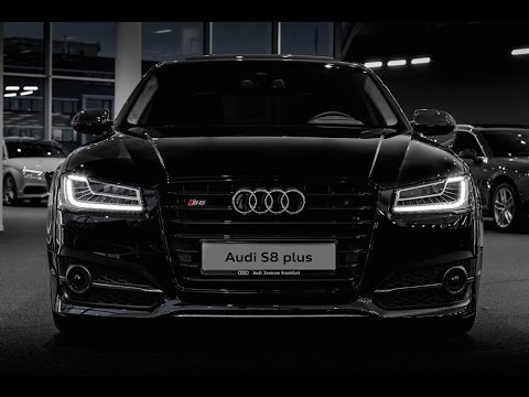 Audi S8 Plus Black 2016 - YouTube