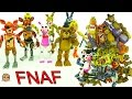 FNAF In Pieces Complete Set Of Five Night's At Freddy's Funko + Surprise Blind Bags