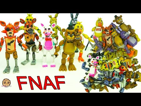 FNAF In Pieces Complete Set Of Five Night's At Freddy's Funko