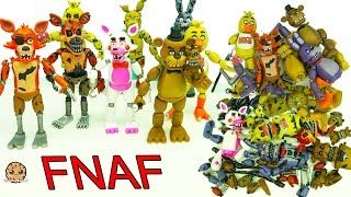 FNAF In Pieces Complete Set Of Five Night s At Freddy s Funko Surprise Blind Bags