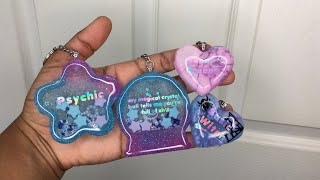 How to: Dome resin charms | 2 ways | Watch me resin | Sweet Art Crafts