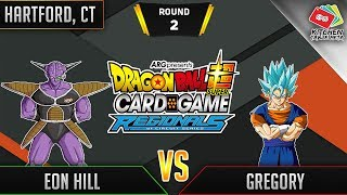 Dragon Ball Super Card Game Gameplay [DBS TCG] Hartford Regional Round 2