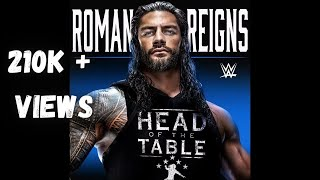 Roman Reigns - Head Of The Table (Entrance Theme) 30 minutes