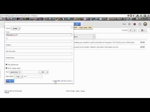Gmail: how to whitelist an email address