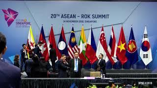 20th ASEAN-Republic of Korea Summit, Singapura, 14 November 2018