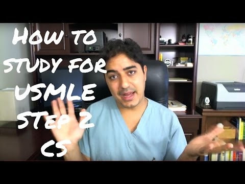How to Study for USMLE Step 2 CS