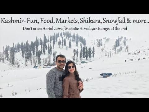 Kashmir Trip- Gulmarg, Srinagar, Pahalgam (Feb 2018)