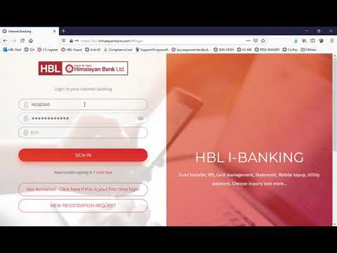Himalayan Bank - Internet Banking - Customer-1-Activation by customer and First login