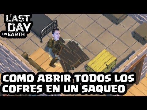 COMO ABRIR TODOS LOS COFRES EN UN SAQUEO | LAST DAY ON EARTH: SURVIVAL | [El Chicha]