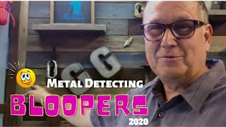 COPTECH Metal Detecting Bloopers 2020 - Hilarious - It's Not As Easy As You Think - Need A Laugh!