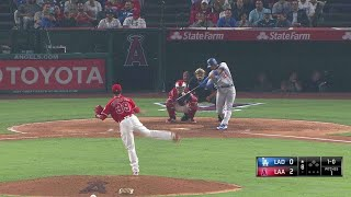 LAD@LAA: Thompson drills a solo home run to left