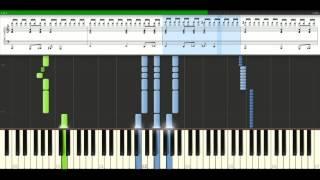 Muse - Sunburn [Piano Tutorial] Synthesia