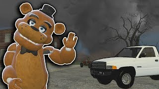Massive Tornado & SCP Try to Hunt Us Down! - Garry's Mod Gameplay - Gmod Tornado Survival