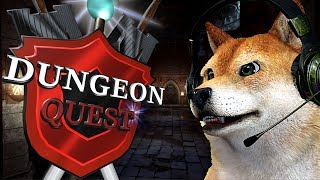 """Roblox Dungeon Quest """"Doge power leveling"""""""