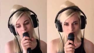 Девушка очень красиво поет песню Супер вокал