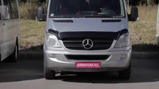 Микроавтобус на свадьбу Mercedes Sprinter / мерседес спринтер серый(, 2016-01-14T13:57:13.000Z)