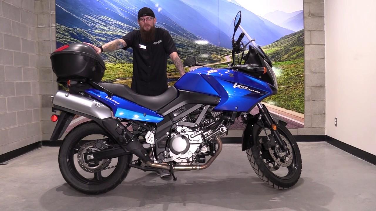 2008 Suzuki V-Strom - YouTube